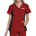 Juniors, V-neck Scrub Top-Ladies